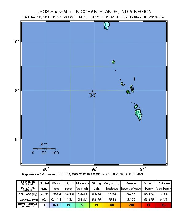 Shake Map