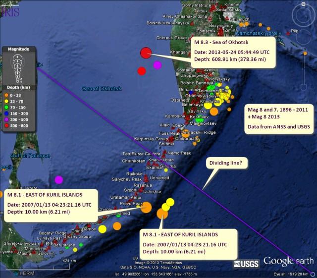 History-of-mag-8-quakes-kurils